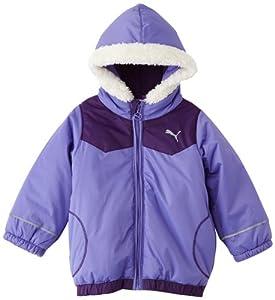 Puma Story Baby's Padded Winter Jacket dahlia purple-blackberry Size:68