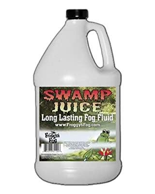 Froggys Fog - Swamp Juice® (Extreme Hang Time Longest Lasting Fog Fluid) by Froggys Fog
