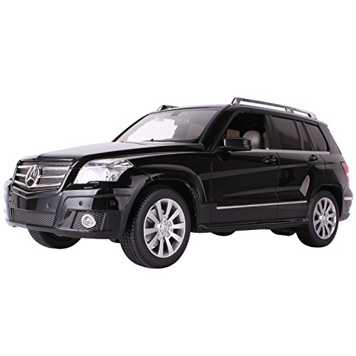 Yesurprise Modellauto Rastar Spielauto Spielzeug Modelle Fahrzeuge Ferngesteuerte Modelle Zubehör Fahrzeuge Autos Modell Christmas Birthday Gift R/C 1:14 Remote-Control Car Mercedes-Benz GLK-Class 31900 Black Car Model