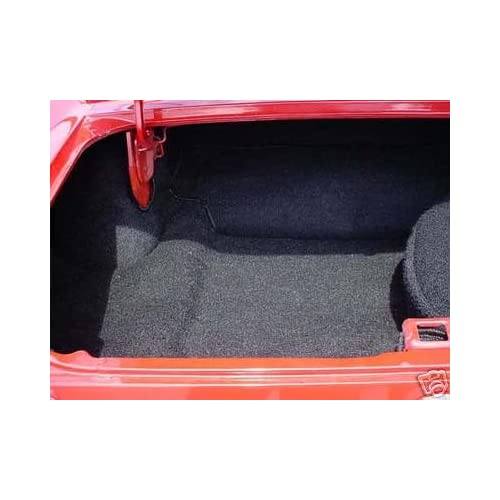 Amazon.com: Ford Mustang Black Trunk Carpet Rug Kit Coupe
