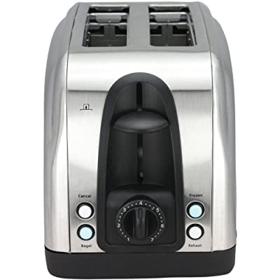 Chefman Stainless Steel Toaster with Illuminated LED Buttons from Chefman