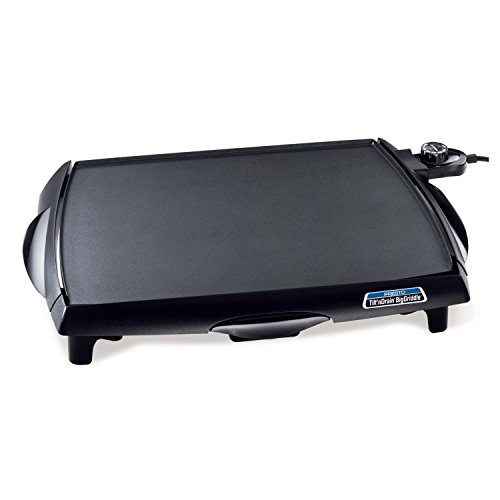 NEW Presto 07046 Tilt'n Drain Cool-Touch Big Griddle