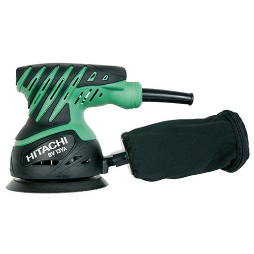 Compare Hitachi SV13YA 2 Amp 5-Inch Variable Speed Random Orbit Sander with Cloth Dust Bag