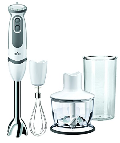Braun MQ5035 Multiquick 5 Hand Blender w/ Chopper & Whisk, 220V (Not for USA/Canada) (Braun Chopper Blender compare prices)