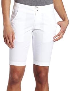 Columbia Women's Super Bonehead Short, White, 14x7