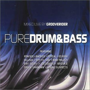 Pure Drum & Bass/Grooverider various artists DnB Audio CD
