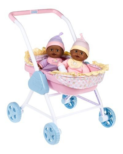 Little Mommy Newborn Twins with Stroller Giftset - Ethnic - Buy Little Mommy Newborn Twins with Stroller Giftset - Ethnic - Purchase Little Mommy Newborn Twins with Stroller Giftset - Ethnic (Mattel, Toys & Games,Categories,Dolls)