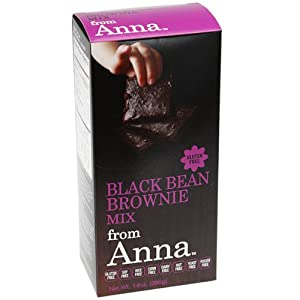 Black Bean Brownie Mix, Breads from Anna, Gluten yeast soy rice corn dairy potato and nut... by Breads From Anna