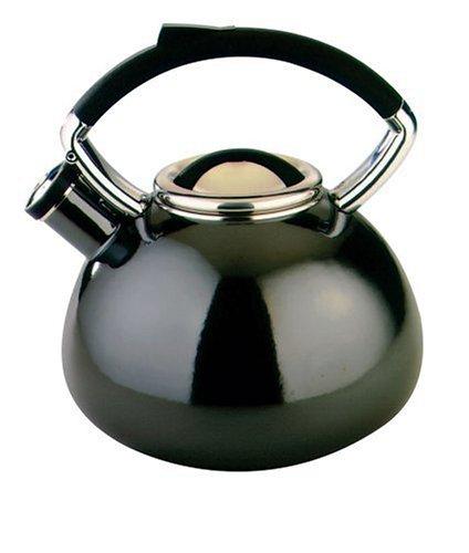 Copco Vitara 2.3-Quart Enamel on Steel Teakettle, Santa Clara (Vitara Tea Kettle compare prices)
