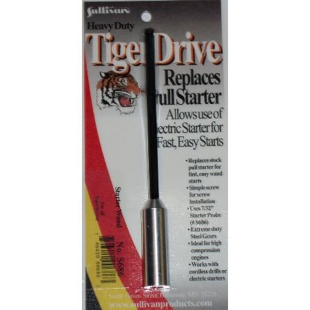 "TigerDrive Starter Wand w/Adapter 7/32"" - 1"