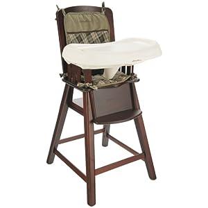 Amazon com eddie bauer wood high chair bryant collection cherry
