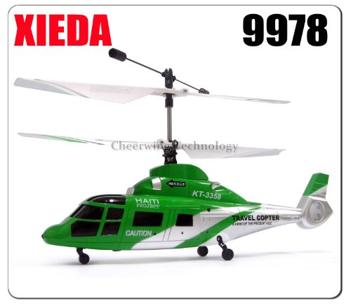 Xieda 9978 Mini 2.4GHz 4 Channel RC Helicopter W/Gyro Same Brand As 9958