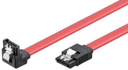 HDD S-ATA Kabel 1.5GBits / 3GBits, CAK SATA 300-050 90° down CLIP 0.50m