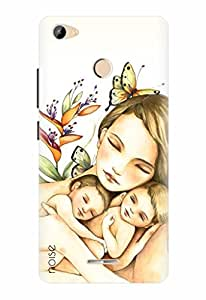 Noise Designer Printed Case / Cover for Micromax Canvas Unite 4 Pro Q465 / Personalities / Mother Of Twins Design