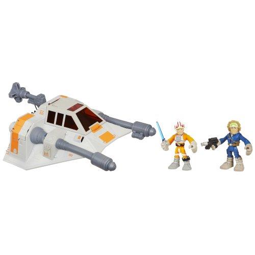 Star Wars Jedi Force Snowspeeder Luke Skywalker Han Solo