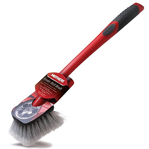 Mothers Wheel & Wheel Well Long Handled Brush (Mothers Wheel Brush compare prices)