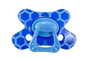 Difrax 342 - Chupete Dental B01 Para Niños De 18 Meses Azul