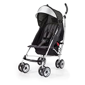 Summer Infant 3D lite Convenience Stroller, Black