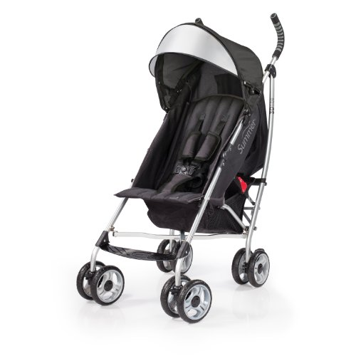 Best Buy! Summer Infant 3D lite Convenience Stroller, Black