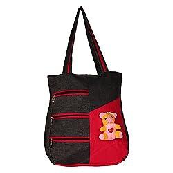 Glory Fashion Women's Stylish Handbag Black-GF-231