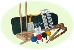 Sport 6 Player Croquet Set by Oakley Woods Croquet