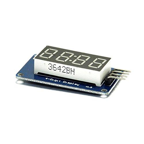 Gikfun 4 Bits Digital Tube LED Module With Clock Display for Arduino EK1213 (Led Module Display compare prices)