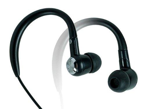 Monoprice 109957 In-Ear Sport Earphones For Cellphones - Retail Packaging - Black