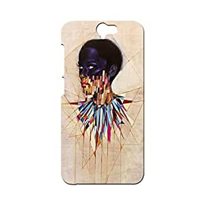BLUEDIO Designer Printed Back case cover for HTC One A9 - G1371