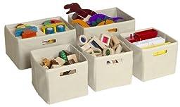 Guidecraft Mission Baskets - Set of 5