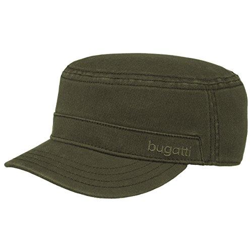 flexform-army-cap-bugatti-fitted-cap-cotone-elasticizzato-m-oliva