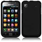 SAMSUNG i9000 GALAXY S HYBRID SHELL HARD CASE - BLACK PART OF THE QUBITS ACCESSORIES RANGE