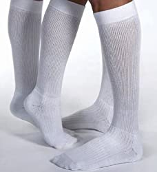 Jobst ActiveWear Over-the-Calf Athletic Support Socks Moderate 15-20 from Jobst
