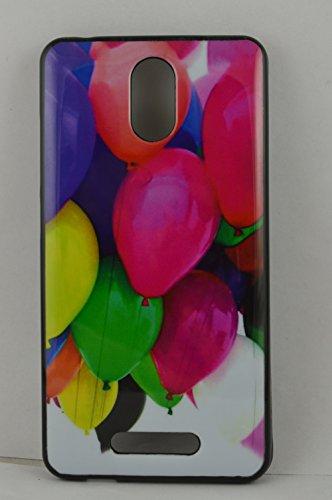 BlueArmor Soft Back Cover Case For Micromax Canvas Evok Design 15