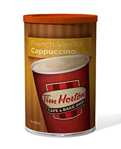 Tim Hortons Instant Cappuccino, French Vanilla, 16 Ounce