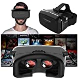Apple Apple IPhone 4s VR SHINECON Virtual Reality Headset 3D VR Glasses Ideal For 3d Videos Movies Games 4.7~6...