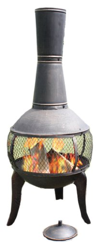 Deeco-Consumer-Products-Tuscan-Glo-Cast-Iron-Chiminea