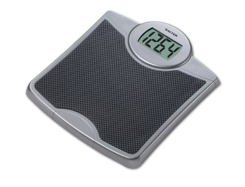 Cheap Salter 9009ef Lithium Electronic Scale (400 lb. Capacity with Extra Large LCD Readout) (9009BKSV3EF)