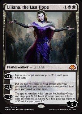 Magic: the Gathering - Liliana, the Last Hope (093/205) - Eldritch Moon