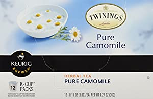 Twinings Pure Camomile Tea, K-Cup Portion Pack for Keurig K-Cup Brewers, 2 Pack of 12 from Twinings