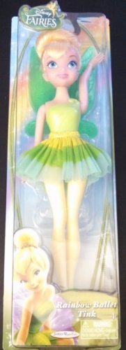 "10"" Disney Fairies Rainbow Ballet Tink - 1"