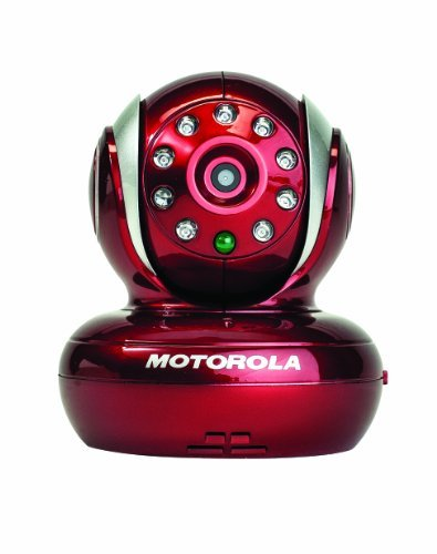 Motorola Blink1 Wi-Fi Video Camera For Remote Viewing With Iphone And Android Smartphones And Tablets, Red Color: Red front-66567