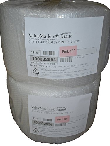 valuemailers-350-ft-3-16-small-bubble-cushioning-wrap-12-wide-perforated-every-12-350-total-sq-ft
