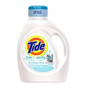 Tide Free And Gentle High Efficiency 48 Use 75 Fl Oz (Pack of 4)