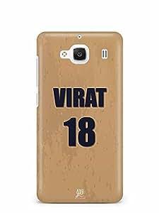 YuBingo Virat, 18 Designer Mobile Case Back Cover for Xiaomi Redmi 2 Prime