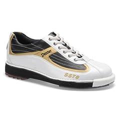 Buy Dexter Mens SST 8 Bowling Shoes- White Black Gold (8 1 2)