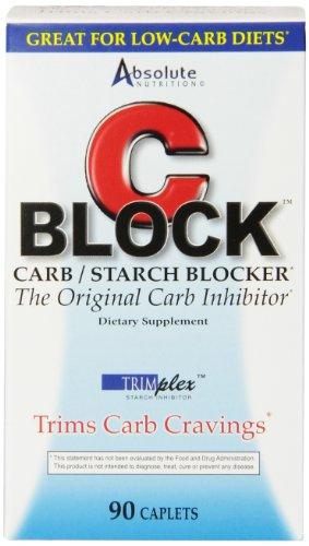 Absolute Nutrition CBLOCK Carb / Starch Blocker,