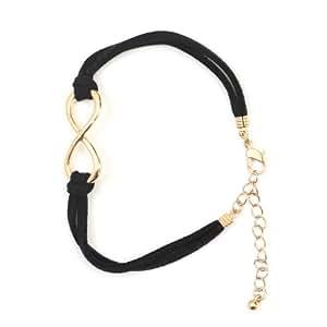 Amazon.com: Infinity Loop Symbol Karma Bracelet BA01 ...