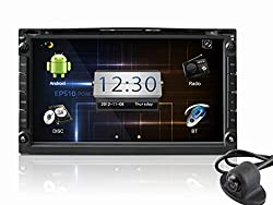 See Generic 2DIN Android Car Dash DVD Player GPS Navigator with Reverse Camera - 3G Wi-Fi, ATV Details