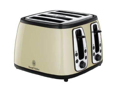 Russell Hobbs 19163 Heritage Metallic Graphite 4 Slice Toaster