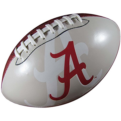 Alabama Crimson Tide Official Size Synthetic Leather Autograph Football (College Football Alabama compare prices)